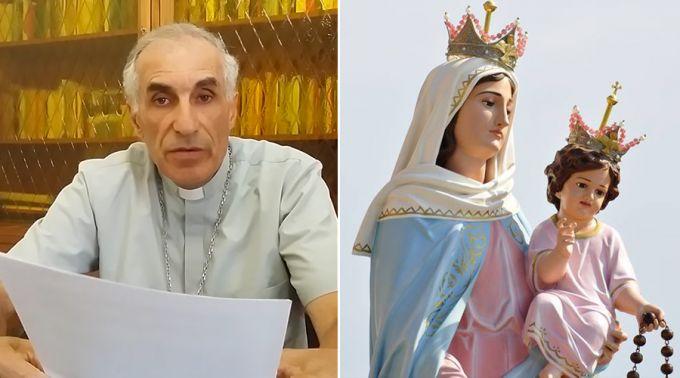 Bispo argentino põe fim à difusão de mensagens sobre Virgem do Rosário de San Nicolás