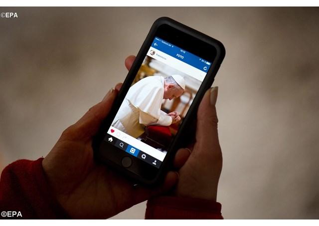 Um ano de Francisco no Instagram: imagens que falam