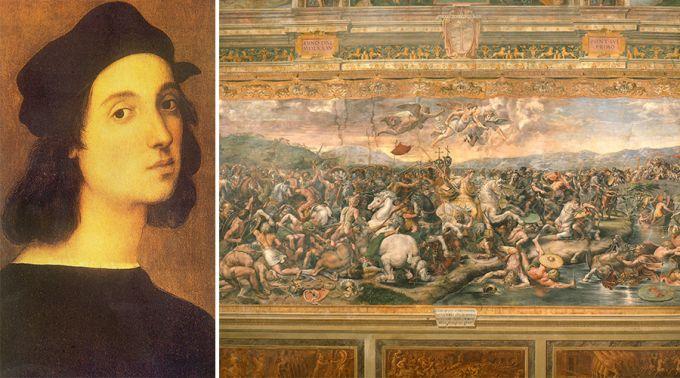 FOTOS: Descobrem duas obras do famoso pintor Rafael no Vaticano