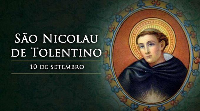 Hoje é festa de São Nicolau de Tolentino, padroeiro das almas do purgatório