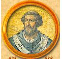 Honório I - 70º Papa da Igreja Católica
