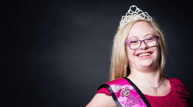 Pela primeira vez uma jovem com Síndrome de Down participa no concurso Miss EUA