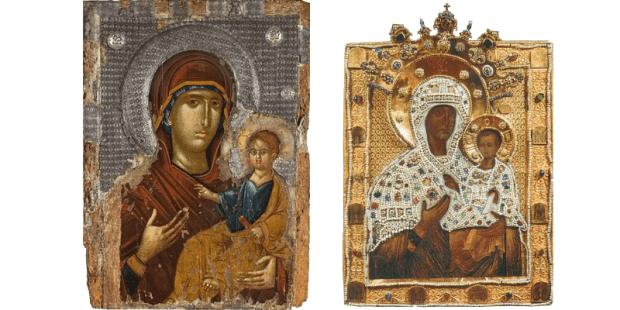 """Conheça a """"Hodegétria"""", o antiquíssimo ícone de """"Nossa Senhora do Caminho"""""""