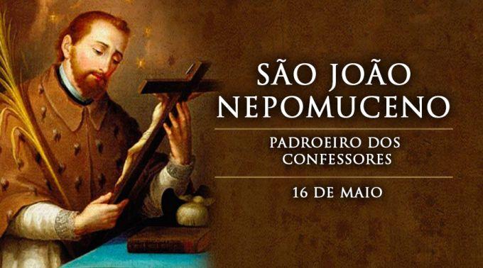 Hoje celebramos São João Nepomuceno, mártir do segredo de confissão