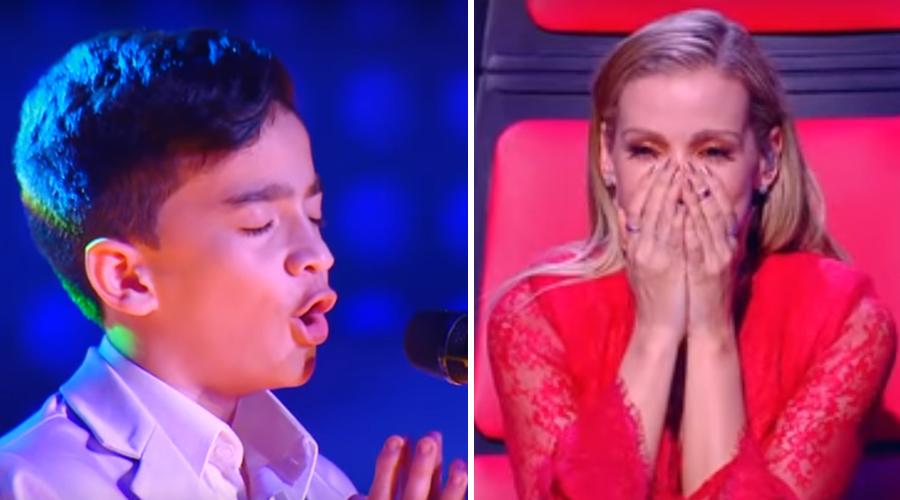 The Voice Kids: Menino canta Ave Maria e comove os jurados e as redes [VÍDEO]