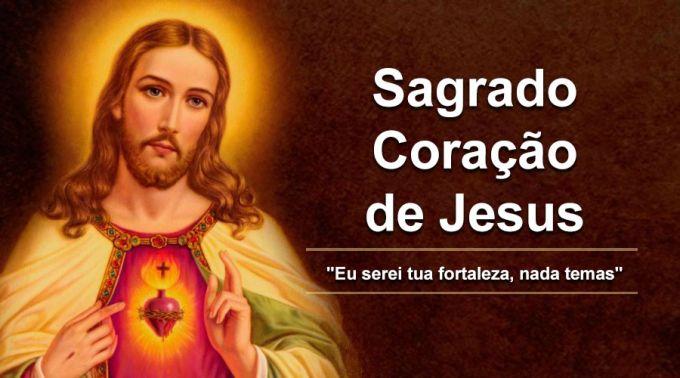 Hoje a Igreja celebra o Sagrado Coração de Jesus