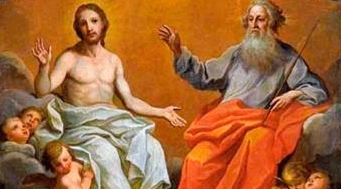 O que significa no Credo que o Filho está sentado à direita de Deus Pai?