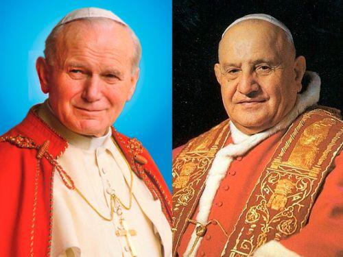 Esses milagres levaram João XXIII e João Paulo II aos altares