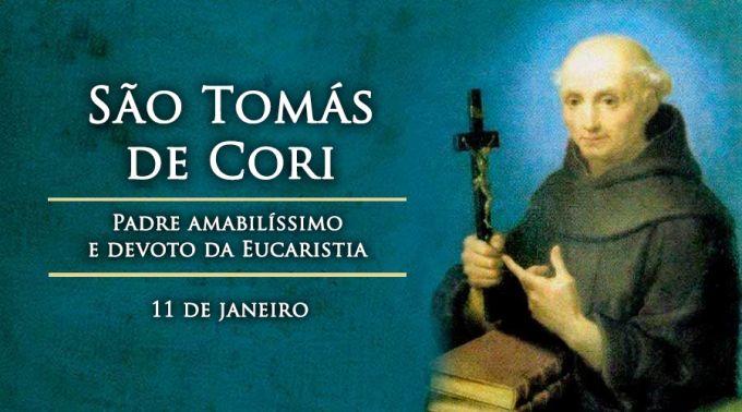 Hoje é celebrado São Tomás de Cori, sacerdote franciscano